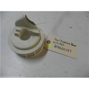AMANA DISHWASHER R9800157 SOIL DIRECTOR W/ FILTER BASE USED PART ASSEMBLY