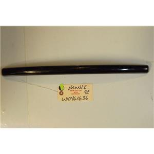 MAYTAG DISHWASHER W10461636 Handle (black)   NEW W/O BOX