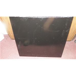 FRIGIDAIRE DISHWASHER 154359107 OUTTER METAL DOOR SKIN BLACK IN COLOR