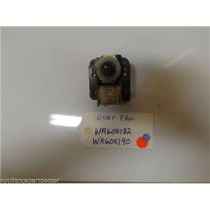 REFRIGERATOR  WR60X182  WR60X190  EVAPORATOR MOTOR without blade  USED PART