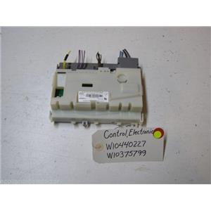 WHIRLPOOL DISHWASHER W10440227 W10375799 ELECTRONIC CONTROL USED PART ASSEMBLY