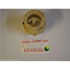 GE DISHWASHER WD22X126  Hub & Support USED PART ASSEMBLY