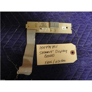 FRIDGIDAIRE ELECTROLUX DISHWASHER 154474801 SEGMENT DISPLAY BOARD USED PART F/S