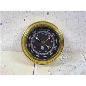 "Boaters' Resale Shop Of Tx 1303 2122.10 VDO BAROMETER WITH 3.5"" FACE & 5"" BASE"