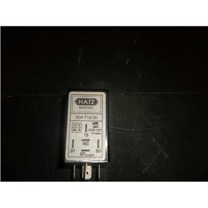 Hatz Engine pre glow relay 12V 40amp 504 718 00