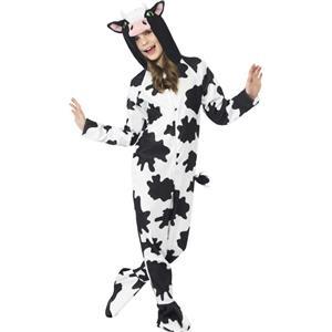 Unisex Kids Cow Costume Size Medium 7-9