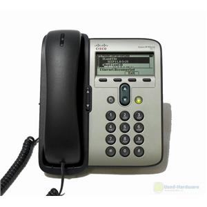 Cisco CP-7911G UNIFIED IP PHONE 7911 VoIP PHONE, SCCP