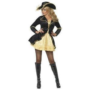 Smiffy's Women's Fever Swashbuckler Adult Costume Size Medium 10-12