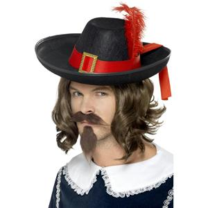 Smiffy's Men's Musketeer Costume Hat
