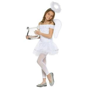 Fun World Big Girls' Little Angel Costume Small (4-6)