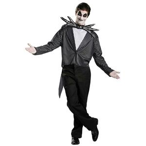 Nightmare before Christmas: Jack Skellington Classic Adult Costume Size XL 42-46