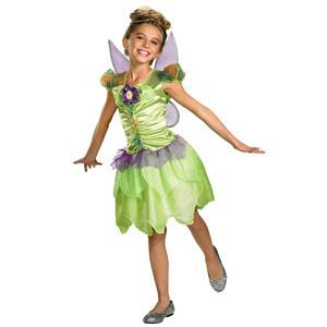 Disney Tinker Bell Rainbow Classic Toddler Girls Costume Size 3T-4T
