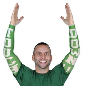 Football Touchdown Party Sleeves Halloween Costume Accessory