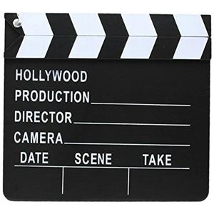 Small Clapper Board Hollywood Film Prop