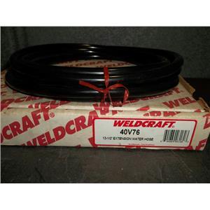 9-NIB Weldcraft 40V76 12 1/2' Extension Water Hose (lot of 9)