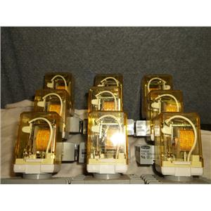 9-Idec Relays RR2P-U w/bases