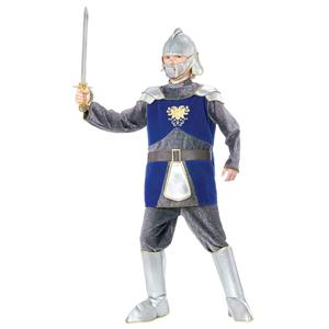 RED Deluxe Knight Child Armor Chainmail Costume Large 12-14
