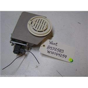 KENMORE DISHWASHER 8572583 W10164259 VENT USED PART ASSEMBLY