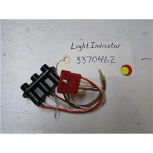 KENMORE DISHWASHER 3370462 LIGHT INDICATOR USED PART ASSEMBLY