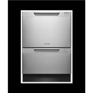 "Fisher & Paykel DishDrawer Series DD24DCTX7 24"" Integrated Double DishDrawer"