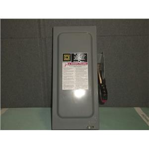 New Square D 60A Safety Switch H322N 240vac