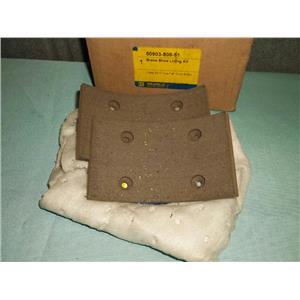 """New Square """"D"""" 50903-808-51 Brake Shoe Lining Kit Type F"""