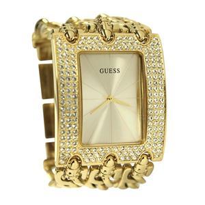 Guess Women's U0085L1 Ladies Swarowski Diamond Bezel Fashion watch