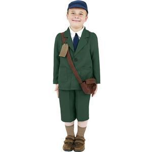 World War II Evacuee Boy Child Costume Size Medium