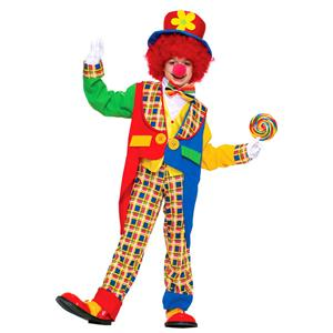 Kids Clown on the Town Child Costume Large 12-14