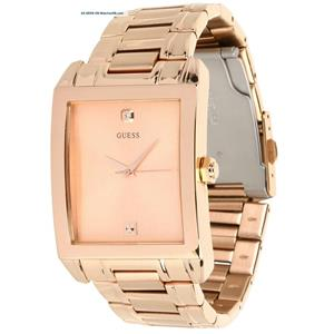 Guess Women's U0102G2 Rose-Gold Stainless-Steel Quartz Watch with Rose-Gold Dial