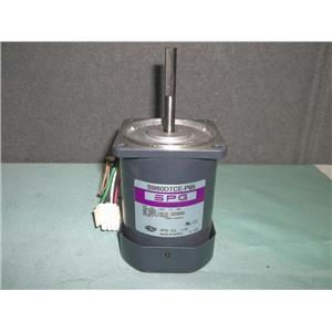 Used SPG Induction Motor S9160DTCE-P95 60W 230V 3PHASE 1600 RPM
