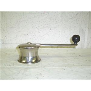 "Boaters' Resale Shop Of Tx 1308 0105.40 STAINLESS STEEL WINCH WITH 9"" HANDLE"