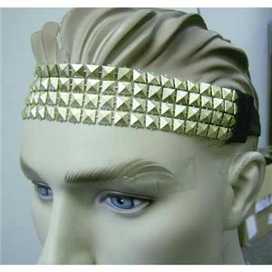 80's Gold Stud Metallic Headband