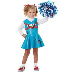California Costumes Cheerleader Toddler Costume Size 3-4