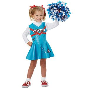 California Costumes Cheerleader Toddler Costume Size 4-6