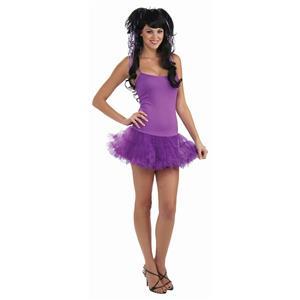 Woman's Purple Fairy Petticoat Dress Costume