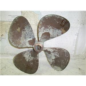 "Boaters' Resale Shop Of TX 1506 2052.02 BRONZE 4 BLADE 20RH20 PROP (1-3/8"" CUP)"