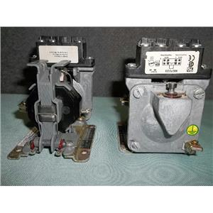 """Lot of 2 Square D 9050A020E Contactor Timing Relay Series A 600 V Max """"USED"""""""