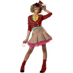 Mad Hatter Girl Costume Size Teen 11-13