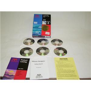 Boaters' Resale Shop Of Tx 1506 0474.02 MAPTECH DIGITAL CHARTKIT REGION 8 (2005)