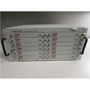 Spirent SmartBits SMB-6000C Mainframe for Data Traffic Generation, 12 slots