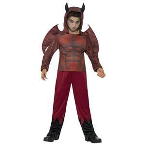 Smiffy's Deluxe Devil Child Costume Size Large