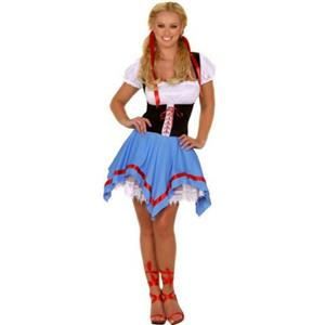 Swiss Miss Sexy Adult Costume S/M