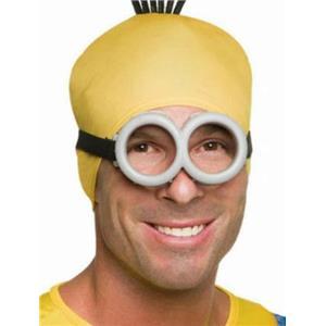 Minion Latex Goggles Costume Accessory