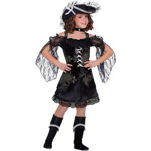 Forum Swashbuckler Sweetie Pirate Child Costume Size Medium 8-10