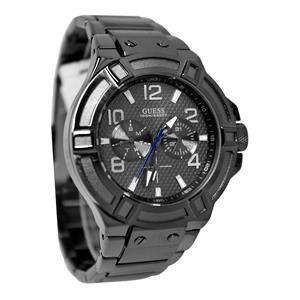 "GUESS Men's U0218G1 ""Gunmetal Rigor"" Multi-Function Standout Sport Watch"