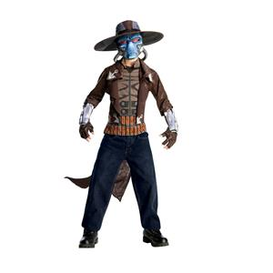Deluxe Boys Star Wars Clone Wars Cad Bane Halloween Child Costume Size Small 4-6