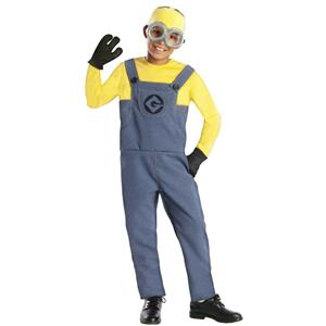 Despicable Me 2: Minion Dave Child Costume Size Small 4-6