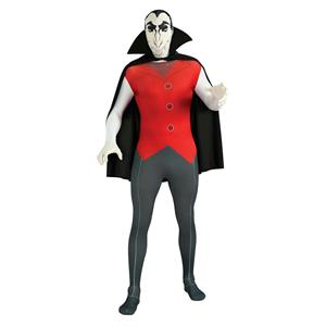 Rubies Costume Vampire 2nd Skin Full Body Suit Size XL