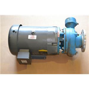 Crane Burks G6-2-1/2-WE Pump with 15HP Baldor Motor JMM3314T, 208-230/460VAC, 3P